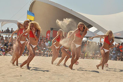Ukrainian Beach Games - 2016